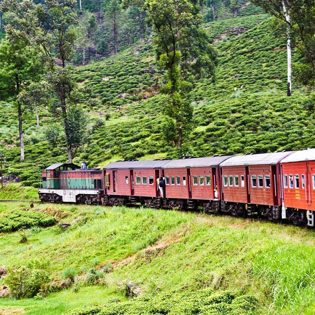 Train, Ella-Nuwara Eliya, Sri Lanka