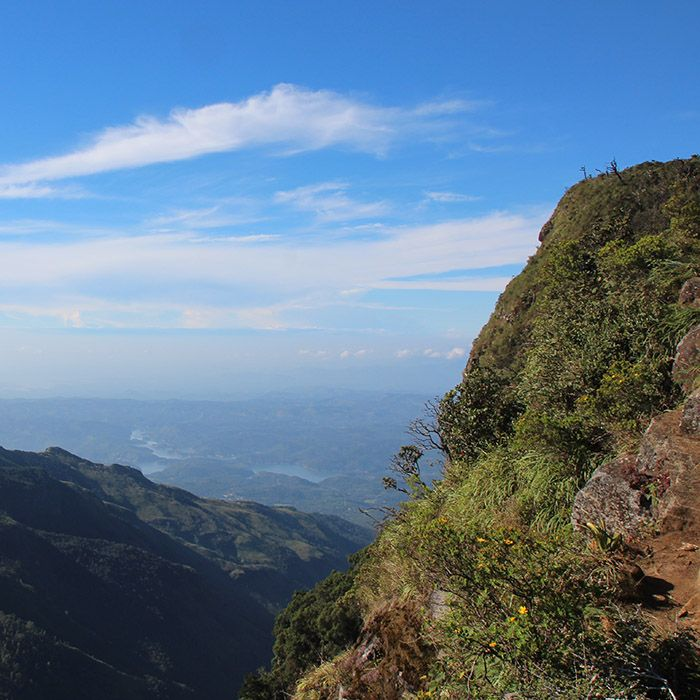 Randonnée, Horton Plains, Sri Lanka