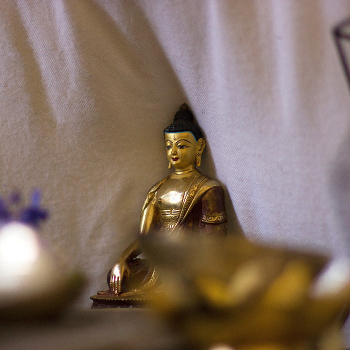 Statue, Bouddha, Sri Lanka