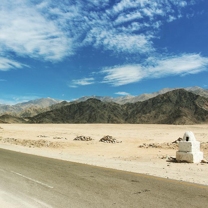 Steven Lasry, Routes, Ladakh, Inde