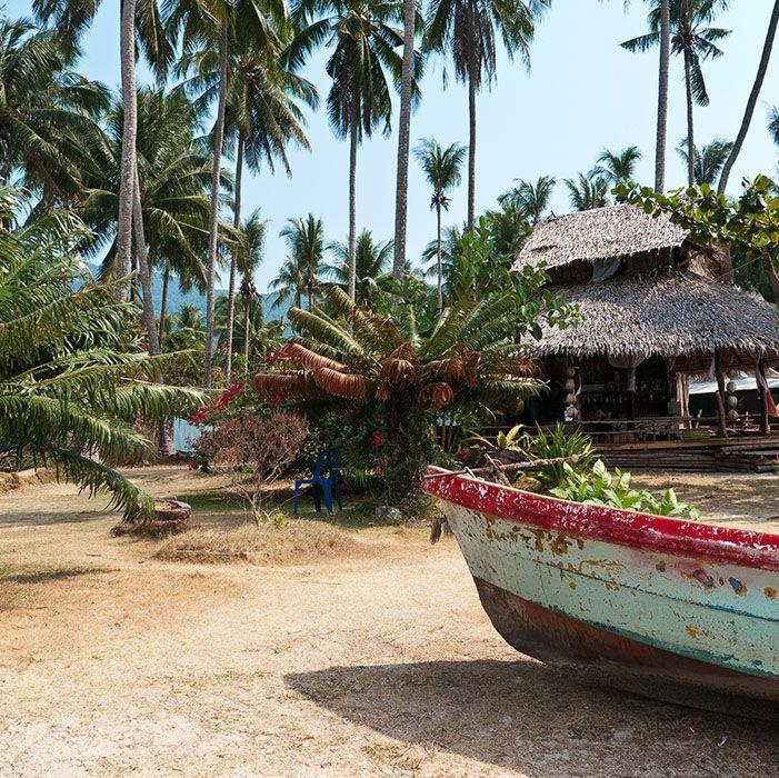 Boat, Koh Chang, Thaïlande