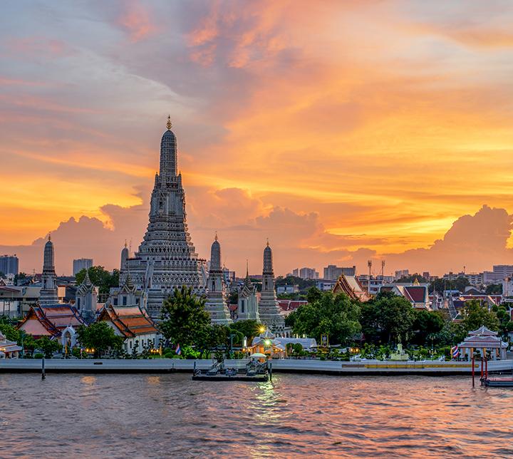 Thaïlande, Bangkok, Temple Wat Arun