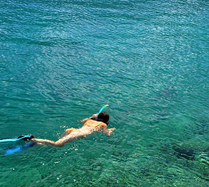 Thaïlande, Femme, Activité, Snorkeling