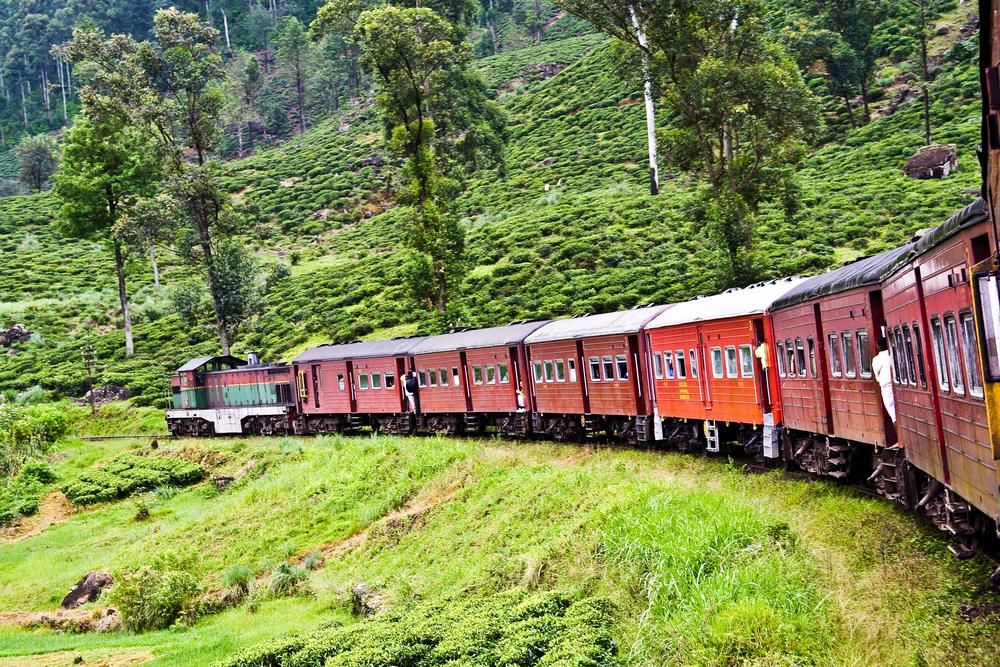 Train pour Ella, Sri Lanka
