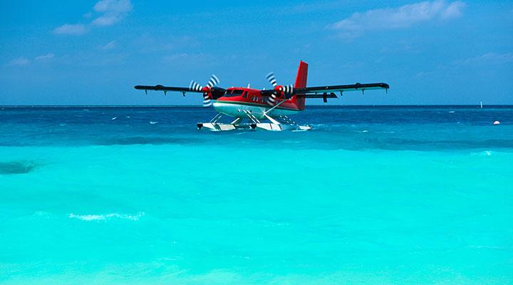 Direction les Maldives