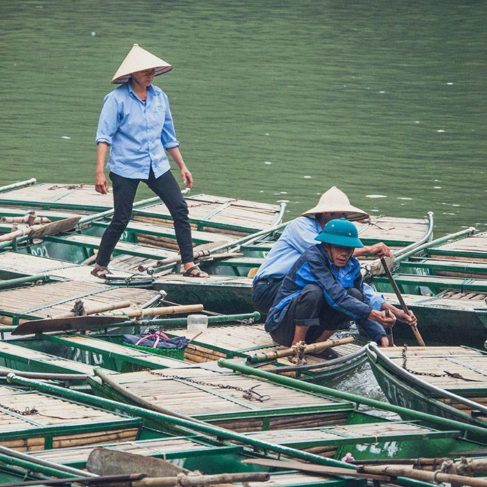 Bateaux traditionnels, Vietnam