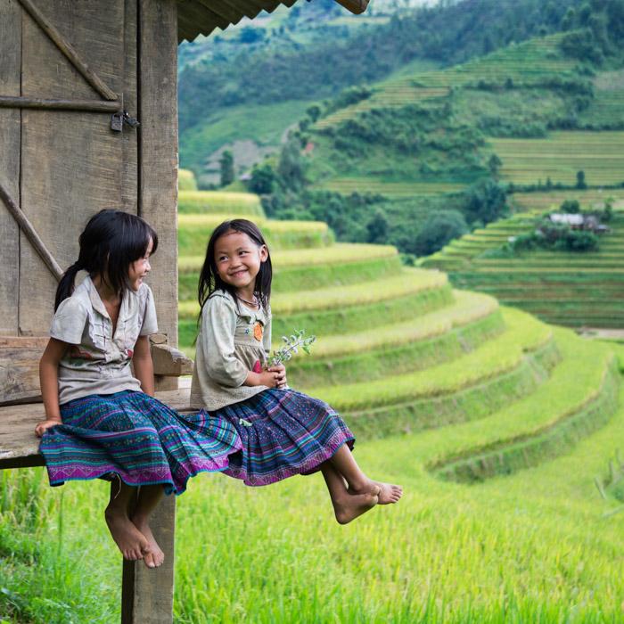 Vietnam, Enfants, Hmong, Éthnies