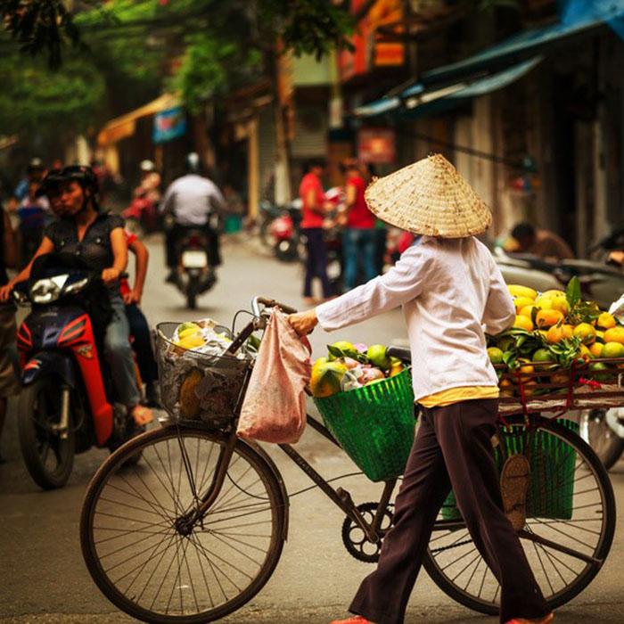 Marché, Hanoi, Vietnam