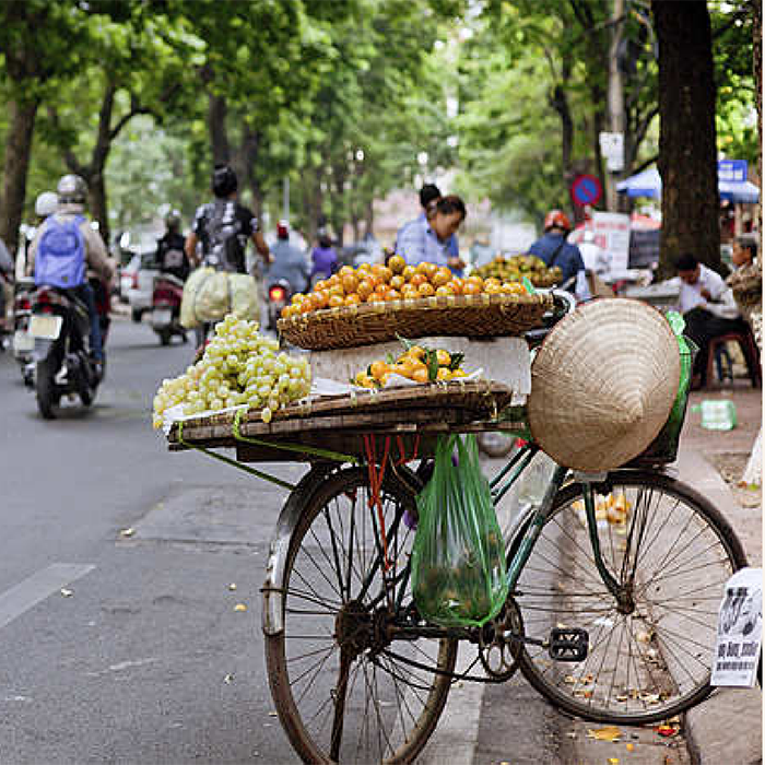 Rues, Hanoi, Vietnam