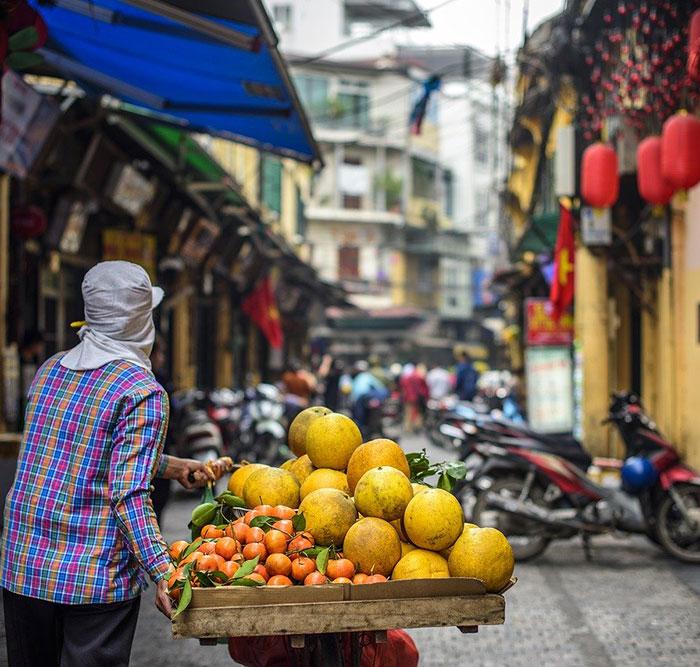 Vietnam, Hanoi, vieux quartiers