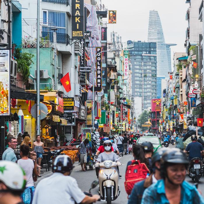 Ho Chi Minh, Ville, Morderne, Vietnam