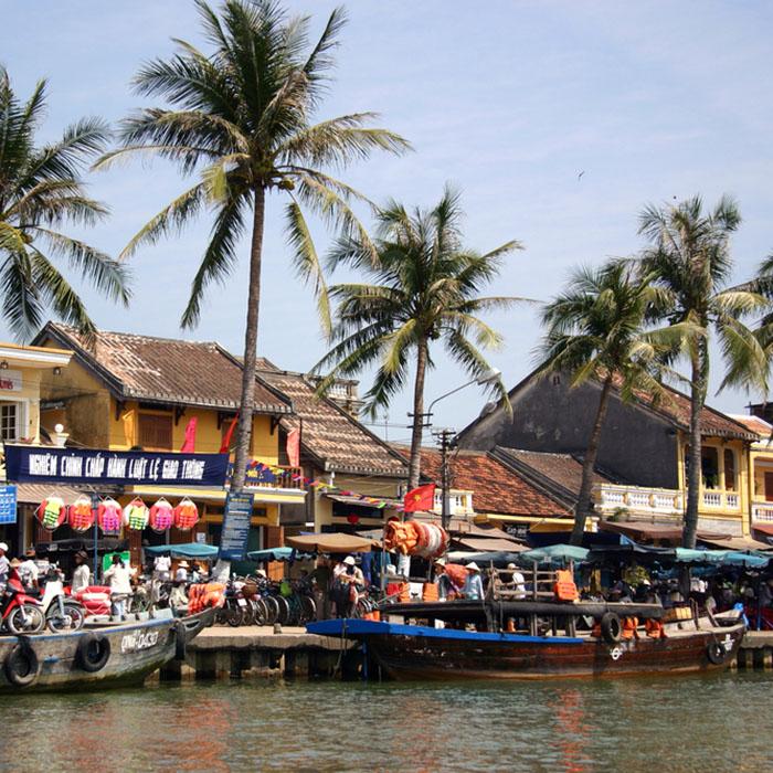 Bâteaux, Hoi An, Vietnam