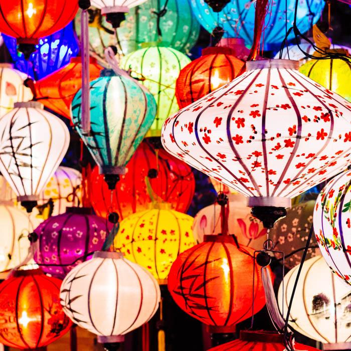 Vietnam, Hoi An, lanternes