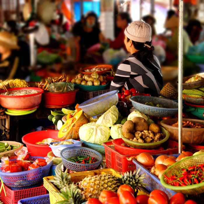 Hoi An, Marché local, Vietnam