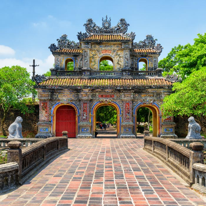 Vietnam, Ville impériale, Hue