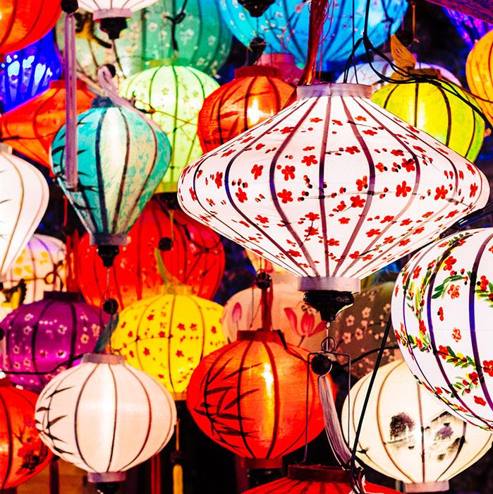 Lanternes, Vietnam