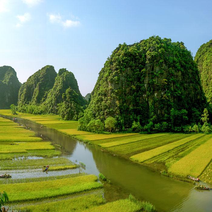 Vietnam, Ninh Binh, baie d'halong terrestre