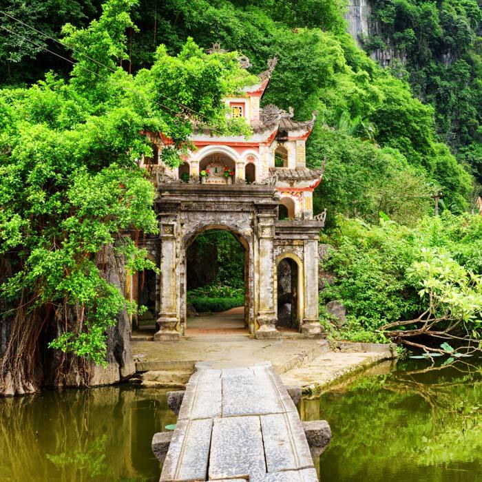Vietnam, Ninh Binh Bich, Pagode