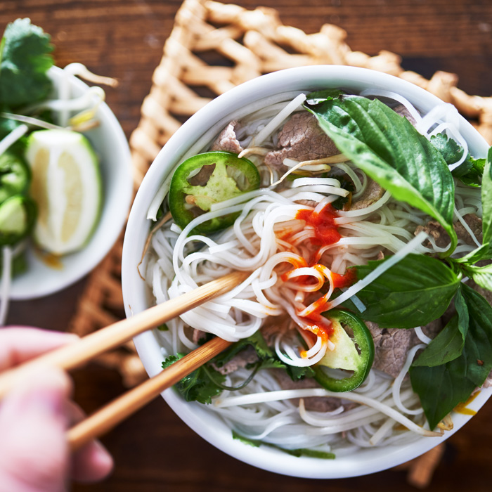 Vietnam, Hanoi, soupe vietnamienne, pho