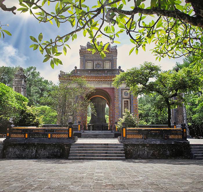 Vietnam, Hué, Architecture