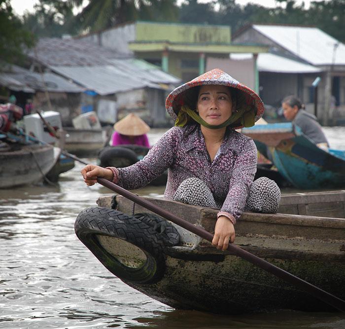 Vietnam, Marché flottant