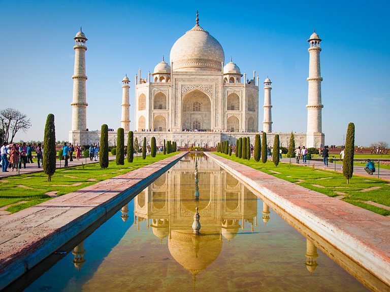 Taj-Mahal-Agra-Indie