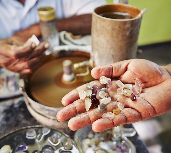 Circuit pierres précieuses du Sri Lanka