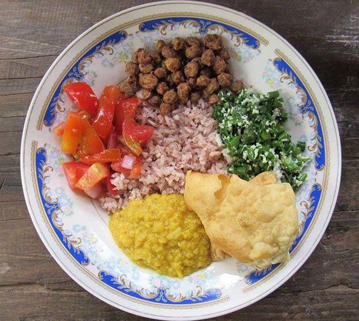 Sri Lanka, Rice, Curry, Classe
