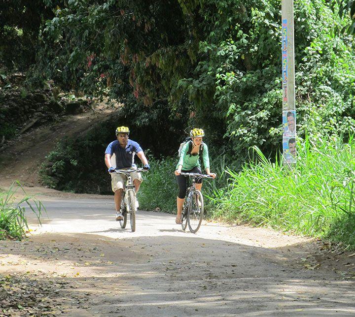Sri Lanka, Kandy, Vélo