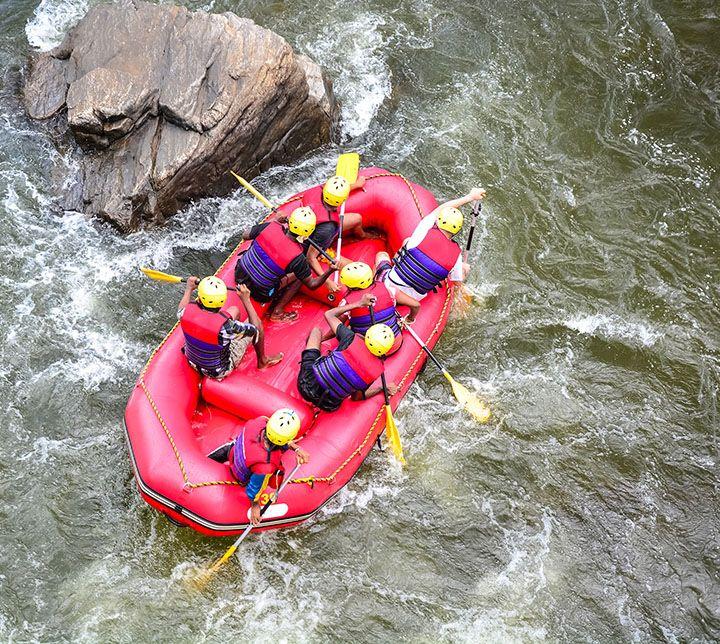 Sri Lanka, Rafting, Rivière, Kelani
