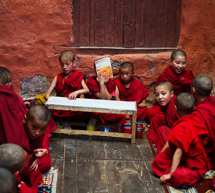 Joseph Gatto, Enfants, Ladakh, Inde