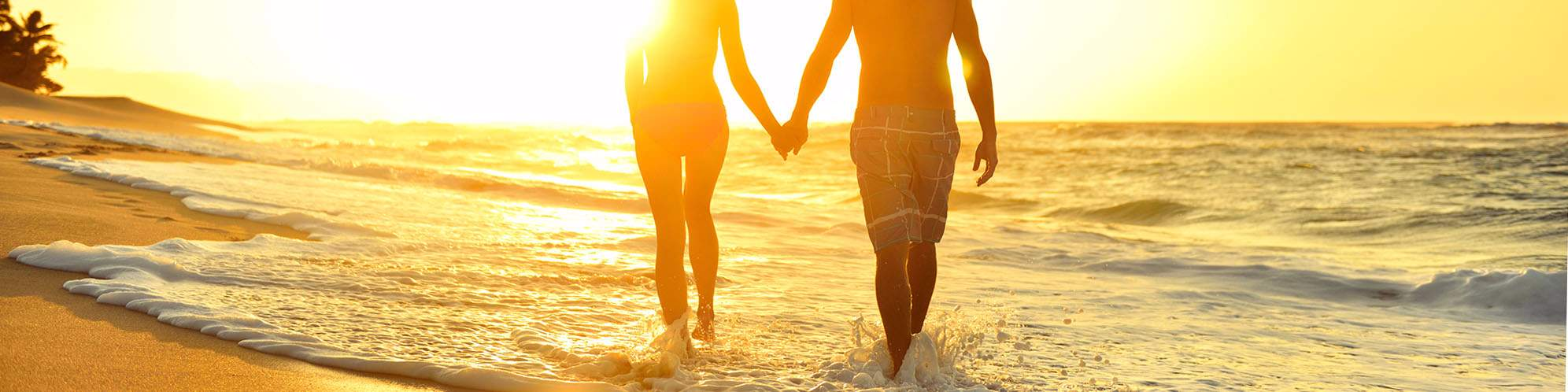 Couple, lune de miel, plage, Sri Lanka