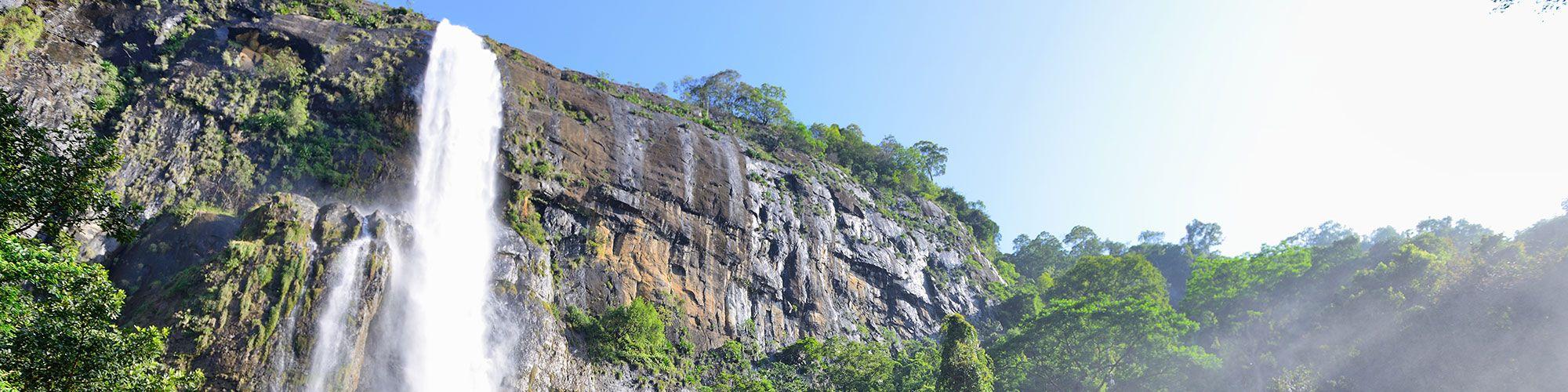 Sri Lanka, Trekking, Chutes Bambarakanda