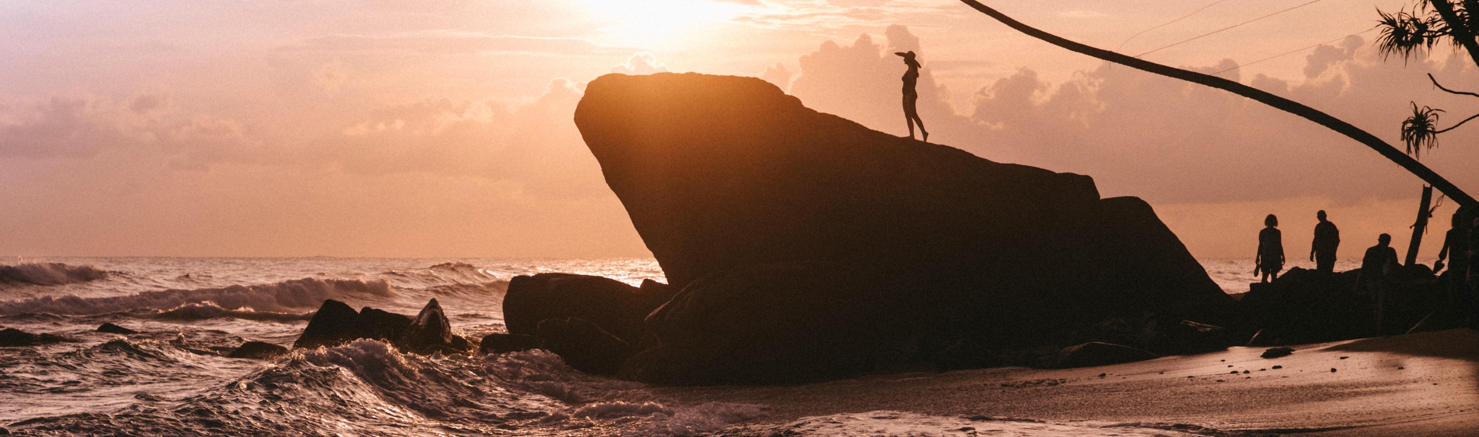 Sri Lanka, Coucher de soleil, Dalawella @Clara Ferrand