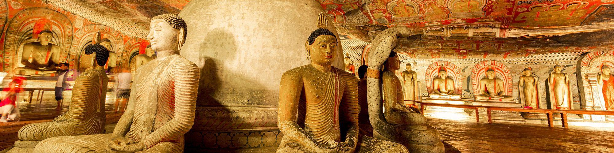 Sri Lanka, Dambulla, Caves