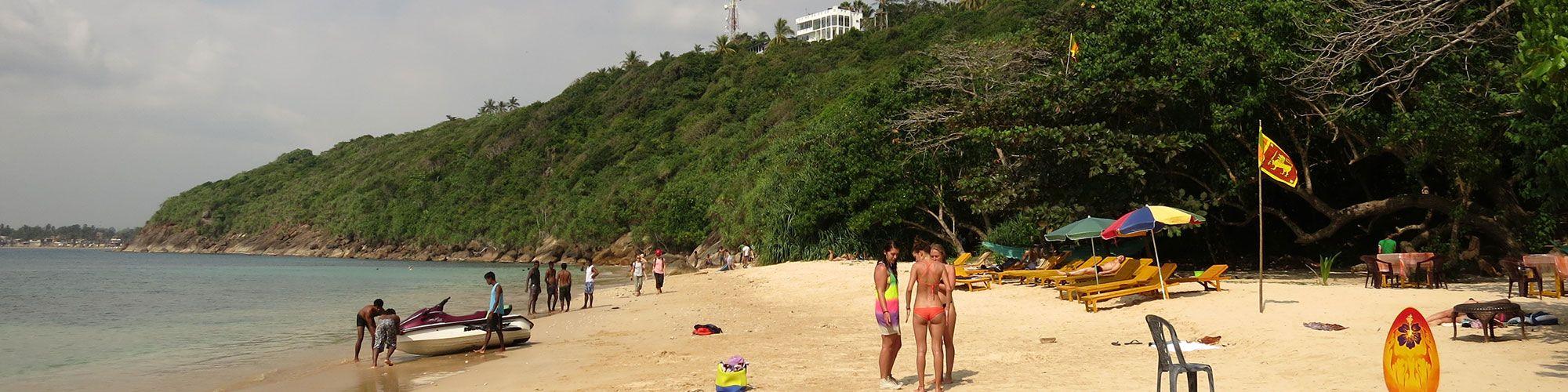 Sri Lanka, Galle, Jungle Beach