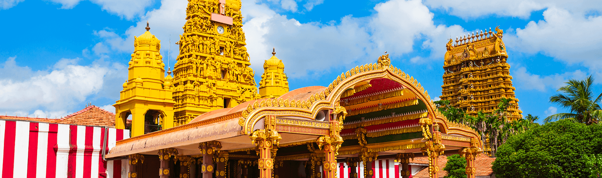 Sri Lanka, Jaffna, Temple hindou