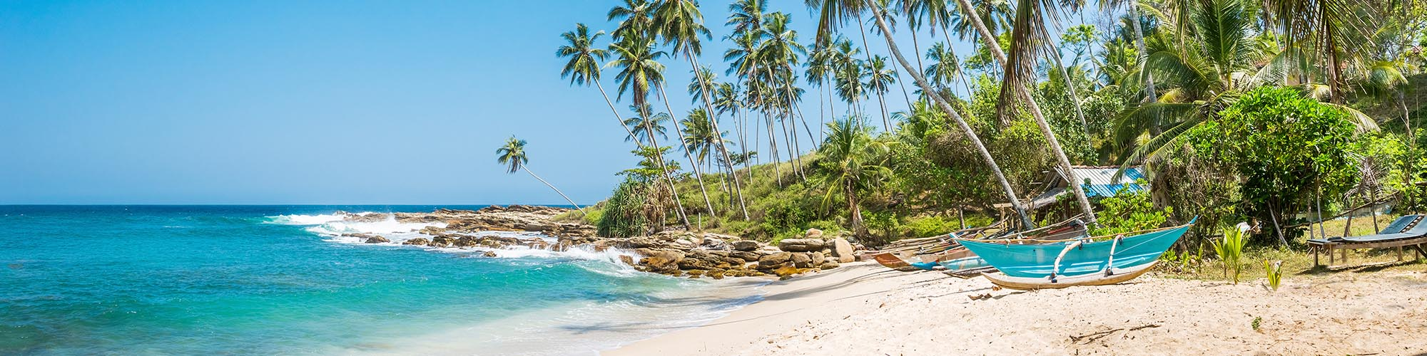 Plage, Côte Sud, Sri Lanka