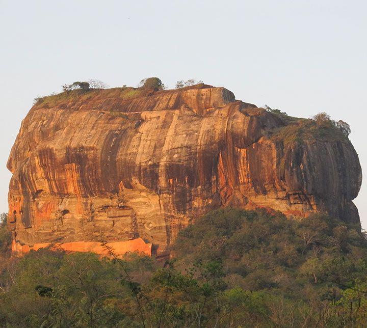 Sri Lanka, Sigiriya, Rocher Lion