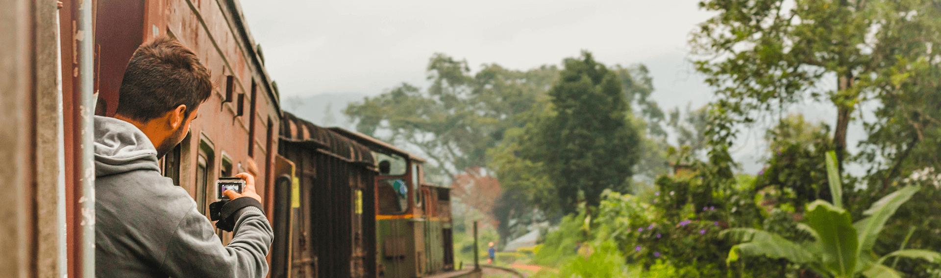 Voyage en train, Kandy-Ella, Sri Lanka
