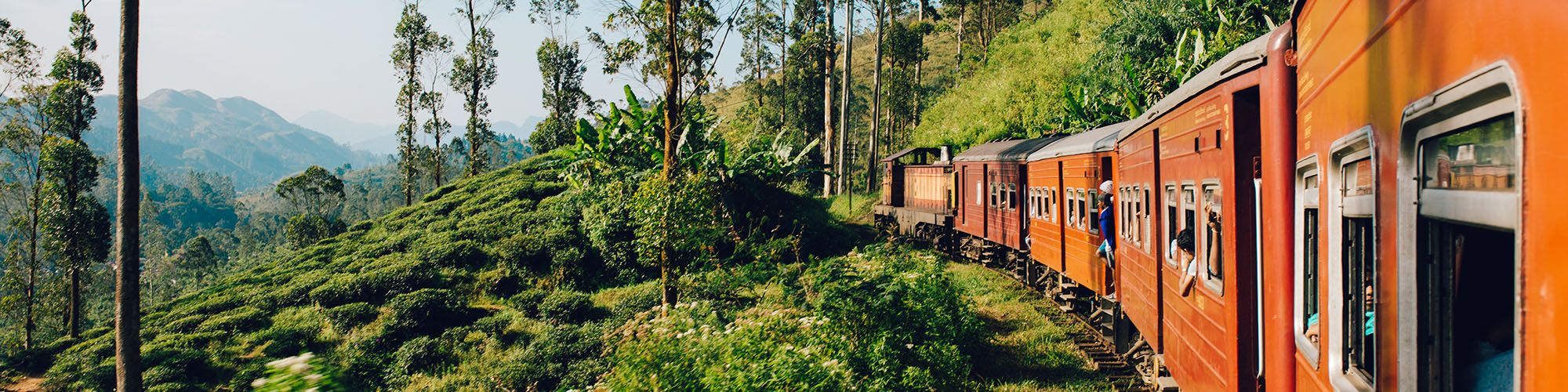 Sri Lanka, Kandy, Train, Paysages